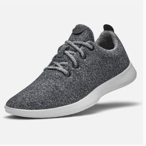 Allbirds Men's Wool Runners, Gray, Size 9